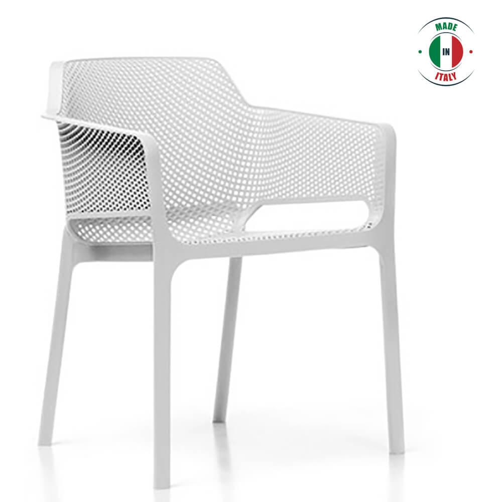Terrific Nood White Arm Chair Pdpeps Interior Chair Design Pdpepsorg
