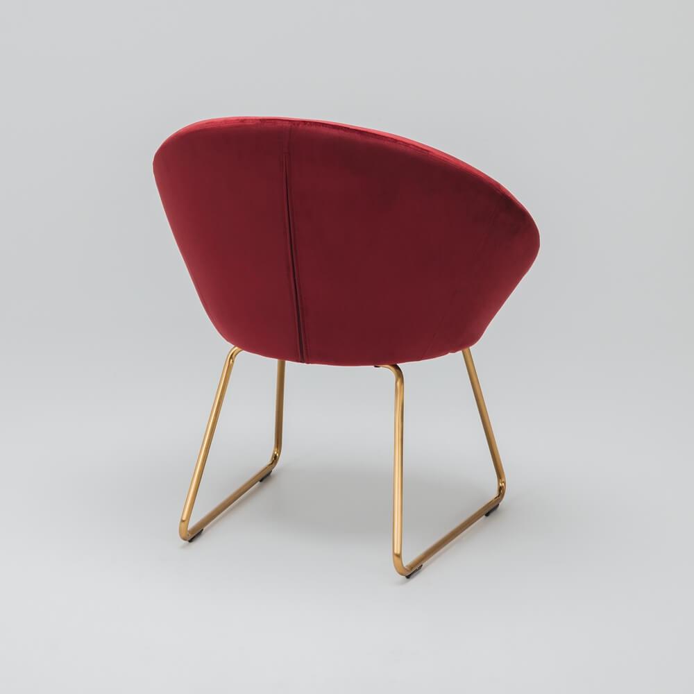 Moon Chair Red Velvet Lounge Amp Living