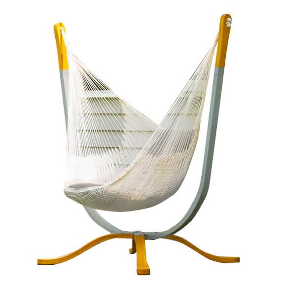 Hammock Black Chair Stand Hammock Cushin Lounge Living