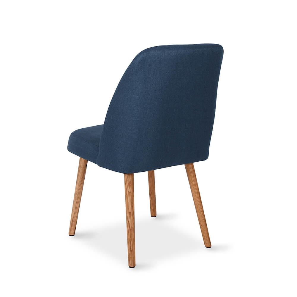 Melle Dark Blue Dining Chair Lounge Amp Living